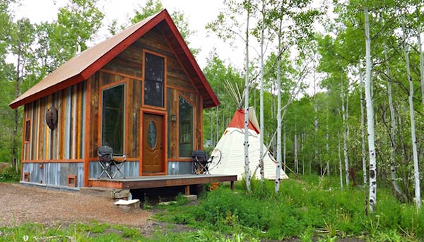 Mountain Tipi Vacation Rental
